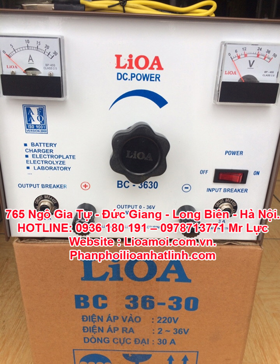 Nạp ắc quy BC3630